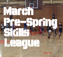 March Pre Spring Skills League North Shore
